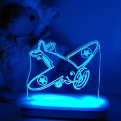 Airplane Night Light