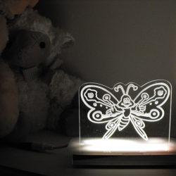Casey Butterfly Night Light