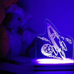Outer Space Night Light