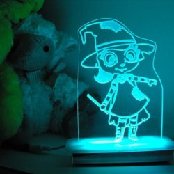 Friendly Witch Night Light