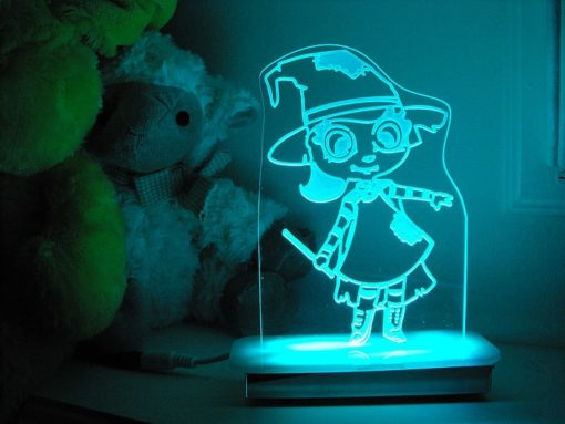 Friendly Witch Night Light