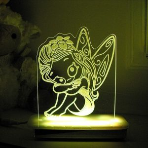 Lily Fairy Night Light