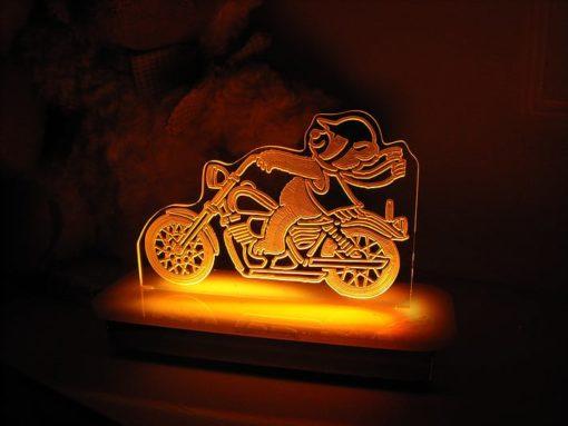Motorbike Night Light
