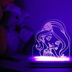 Sparkle Princess Night Light