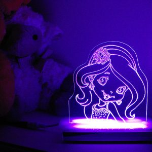 Sparkle Princess Night Light