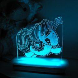 Stitch Unicorn Night Light