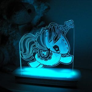 Stitch Unicorn Night Light