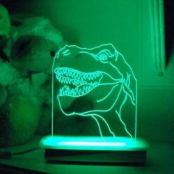 Big T Dinosaur Night Light