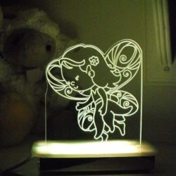 Bluebell Fairy Night Light