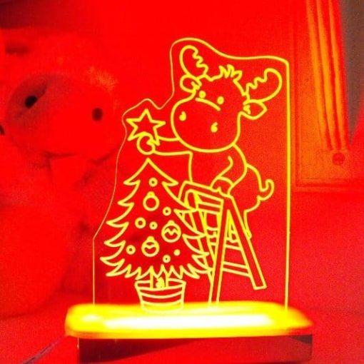 Charles Reindeer Night Light