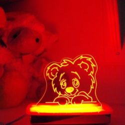 Cuddles Teddy Bear Night Light