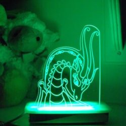 Jewel Dragon Night Light