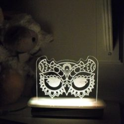 Owl Eyes Night Light