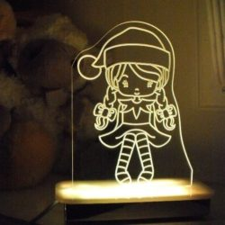 Ribbon Elf Night Light