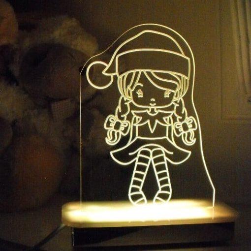 Ribbon Elf Night Light