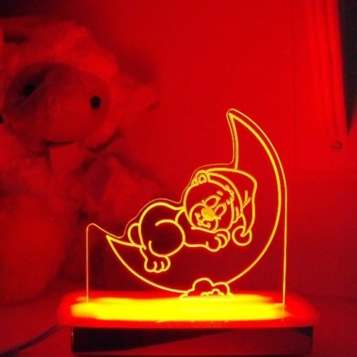 Sleeping Teddy Night Light
