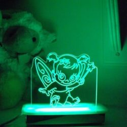 Tulip Fairy Night Light
