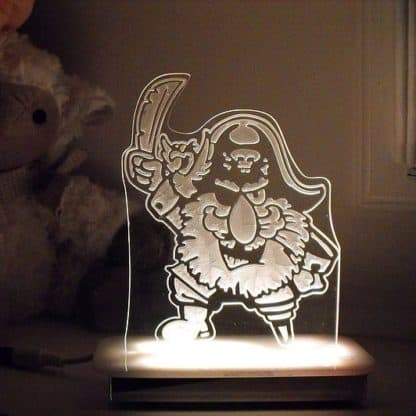 Pirate Night Light - Captain Peg Leg