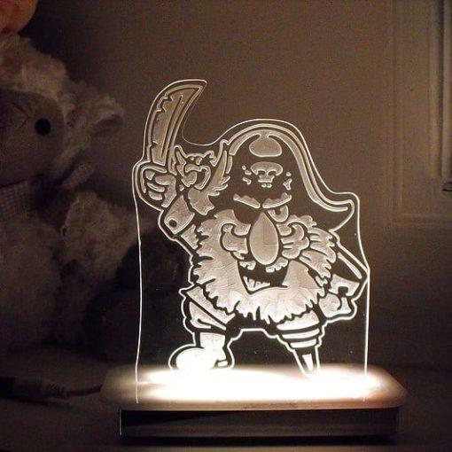Pirate Night Light - Captain Peg Leg