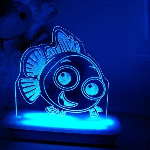 Flynn Fish Night Light
