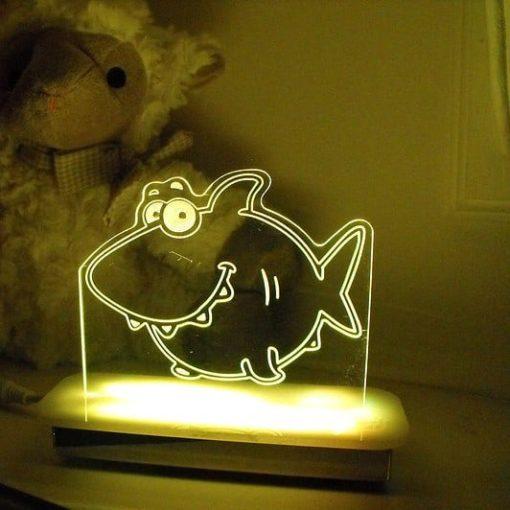 Shark Night Light