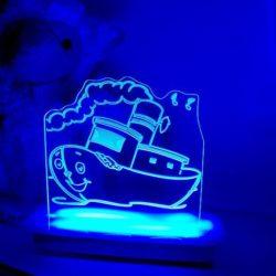 Tug Boat Night Light