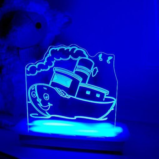 Tug Boat Night Light