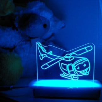 Helicopter Night Light