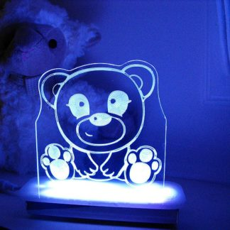 Hugs Teddy Night Light