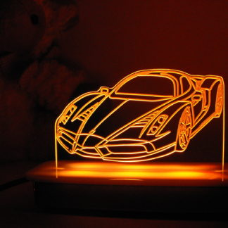 Enzo Ferrari Night Light