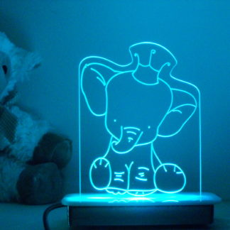 Little Prince Elephant Night Light