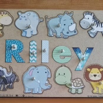 name puzzle for toddlers wild animals