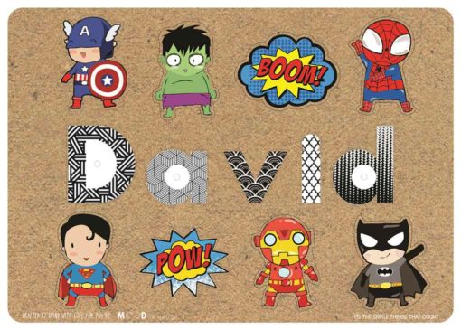 name puzzle for toddler superhero